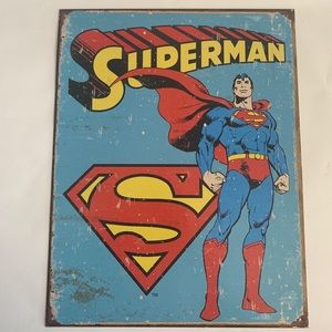 Other - Superman Tin Poster - Collectable